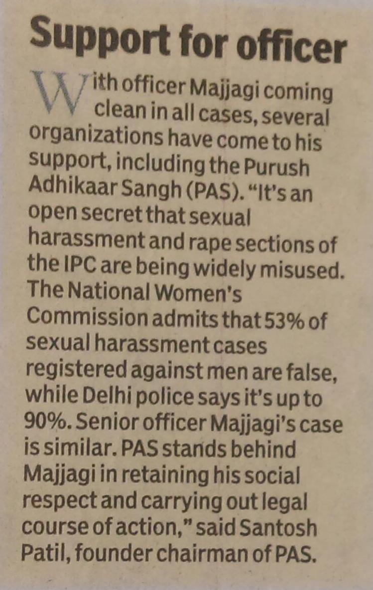 Section 498a false cases of sexual harassment